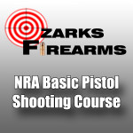 NRA Basic Pistol Shooting Course